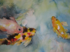 #24. Koi Fish Dancing