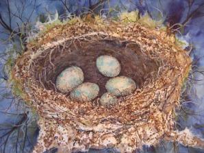 Nest Affair 18W x 14H